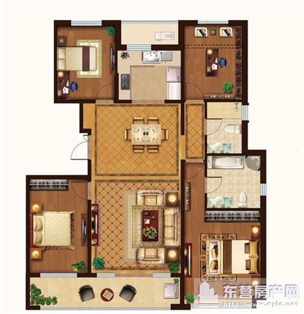 家庭建筑电路图