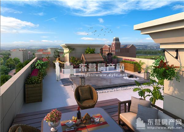 新墅形成活泼跳跃的天际线,加上内部的立体绿化,使每个组团形成了各