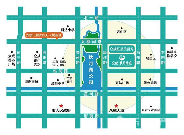 东房网11月16日讯         众成·秋月华庭(楼盘详情户型图相册
