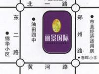 丽景国际3楼120平,车库36平,精装少住证满5年,邻近丽景小学,126万