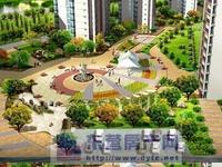 华安荣寓小高层15楼120平精装修户型好南北通透78万