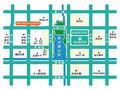 众成·秋月华庭交通图