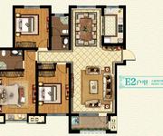 三期22#楼 E2户型 3房2厅2卫