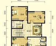1期北区双拼别墅C户型约356.52㎡二层