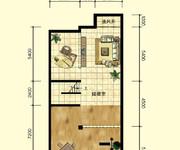 2期中区联排别墅C户型约387.6㎡负一层