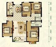 A1户型 4室2厅2卫142㎡