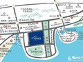 青岛融信西发海月星湾交通图