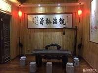 东城富邦鑫天地商务会所348平 带明清瓷器 装修 红木家具出售