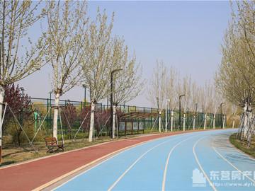 奥体中心实景图——健身跑道