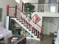 东城明月豪庭1.2楼叠拼 273平带院子70平带车库精装修285万