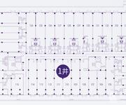 1#楼商铺平面图