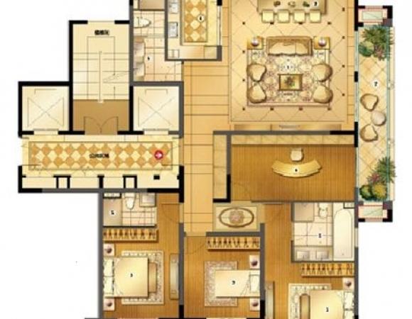 带阳面车库40平.东城安兴北区5楼带阁楼160平精装3室急售