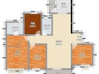 金融小区六楼西户176平精装4室2厅带家具地下室和车位138万